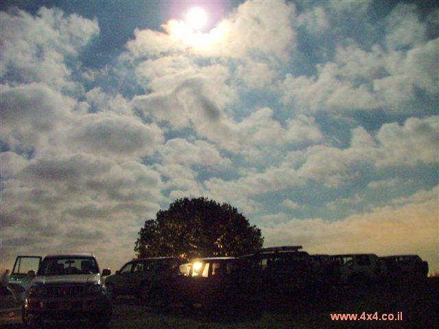 תמונות מהמסע בליל ירח מלא ברמות מנשה - 19 לאוגוסט 2005