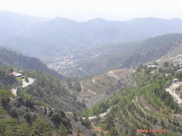 הרי הטרודוס והאולימפוס - הפסגה הגבוהה בקפריסין