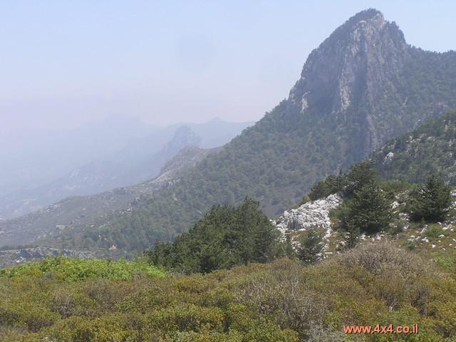 השטח בחלק של צפון קפריסין