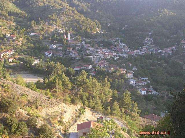 הכפרים שבאיזור הטרודוס