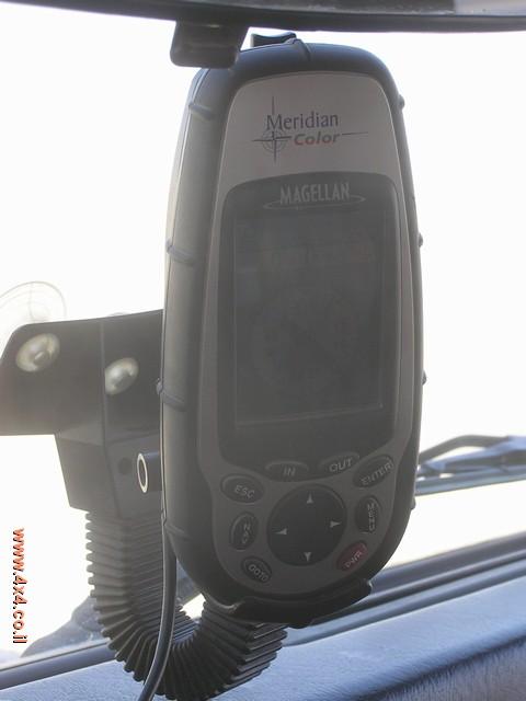 לחיצה על התמונה מאפשרת לשמור ולטעון את קובץ נקודות הציון אליכם למחשב ול-GPS