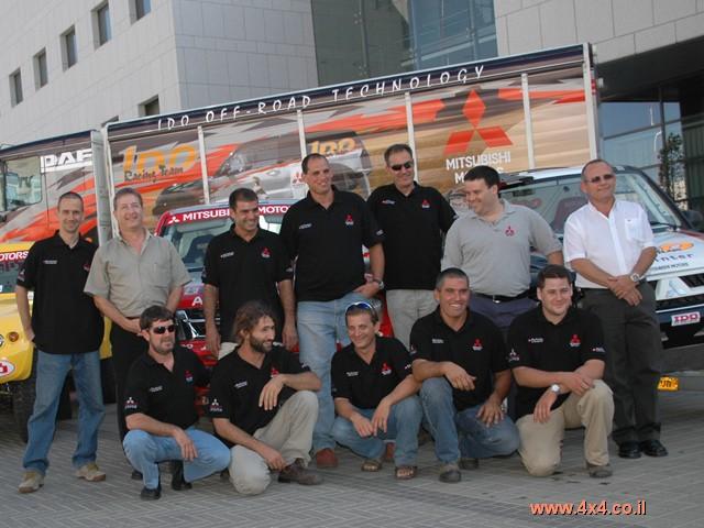 ישראלים מתחרים בראלי הפרעונים במצרים