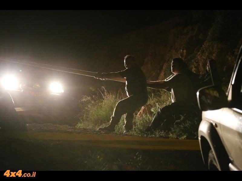עוד תמונות מחילוץ הלילה ביער יתיר