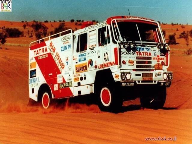סרט:  משאית TATRA - טטרה ATC בפעולה