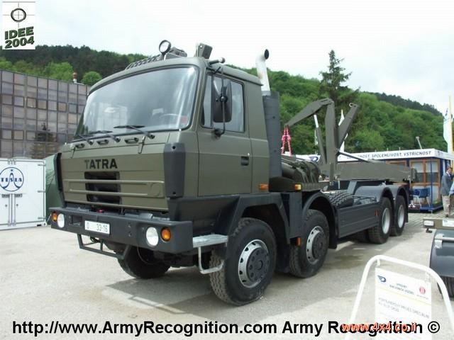 פנטסטי סרט: משאית TATRA - טטרה ATC בפעולה - 4X4 אתר השטח הישראלי RZ-55