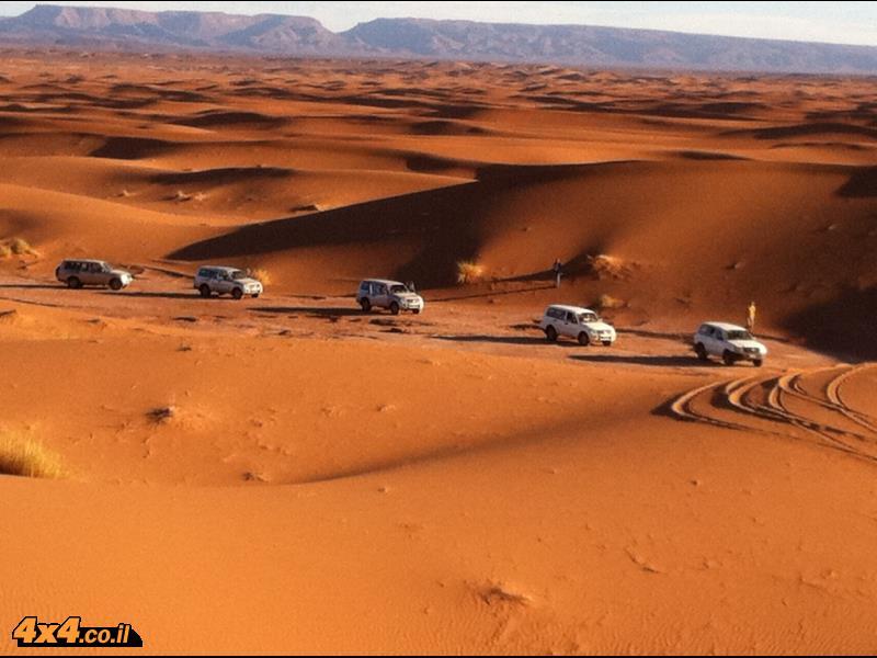 דיונות במדבר הסהרה - מרוקו