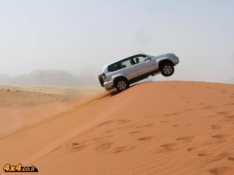 הדיונות של המדבר הדרומי, ואדי ראם - ירדן