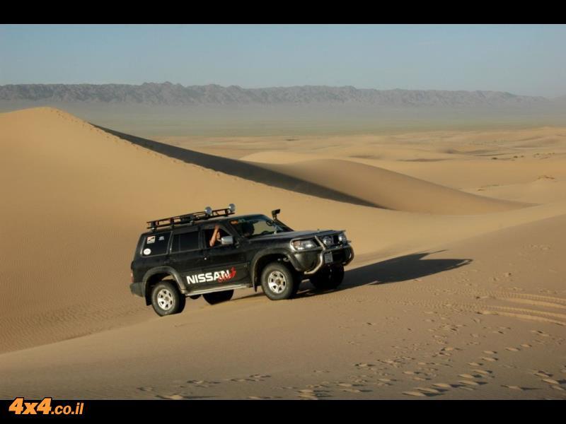 מהירות ורציפות בתנועה בשטח החול