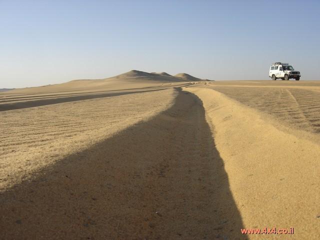 הניווט במדבר המערבי