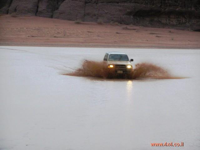 ''צונמי'' במדבר - השטפון בואדי ראם ובמדבר הדרומי בירדן