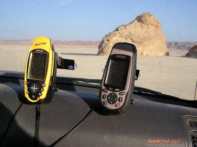 המעבר מ-GPS מקצועי למחשב כף יד עם אנטנה מובנית