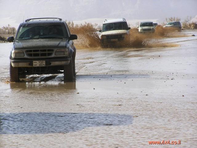 ''צונמי'' במדבר - שטפון בואדי ראם ובמדבר הדרומי של ירדן