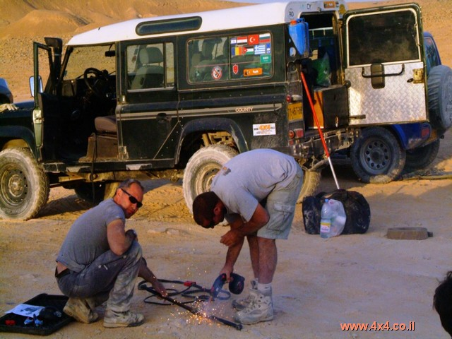 חילוצים, תיקונים ועד שימוש ברתכת בשטח