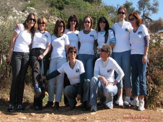 תמונות ממסע נשים בהרי ירושלים