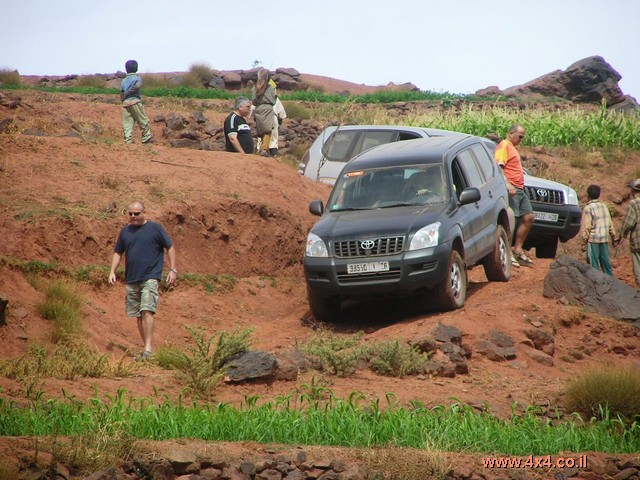 פורצי הדרך נוחתים במרוקו