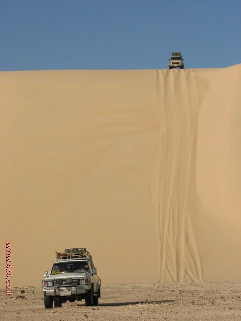 המדבר המערבי: לא יכלו לשים שלט קטן, ''ים''?