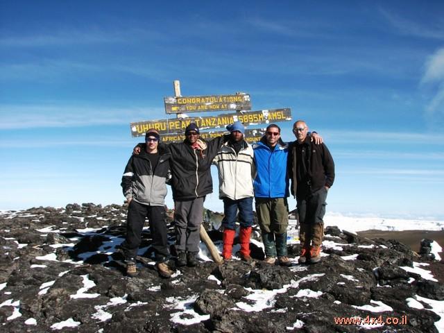 בלי ג'יפ: קילימנג'רו - יומן מסע מצולם מהטיפוס לפסגה Kilimanjaro