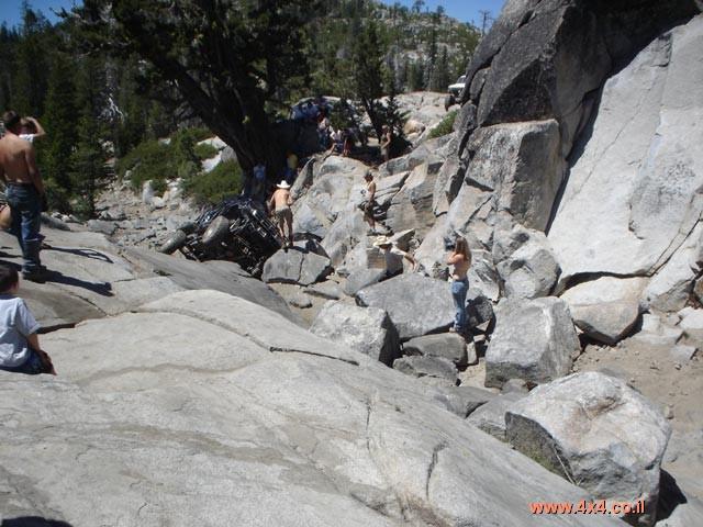 יוליוס קיסר ומשעולי הרים בקליפורניה