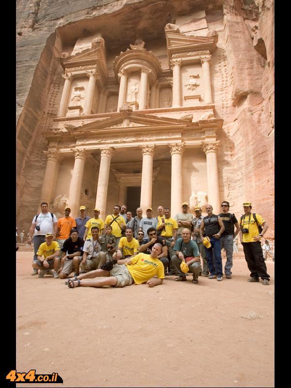 Pictures from April 2007 Suzuki motorcycles trip to Jordan