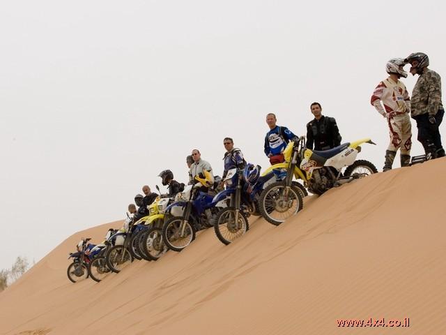''פרשי המלך'' - יומן מסע אופנועים לדרום ירדן