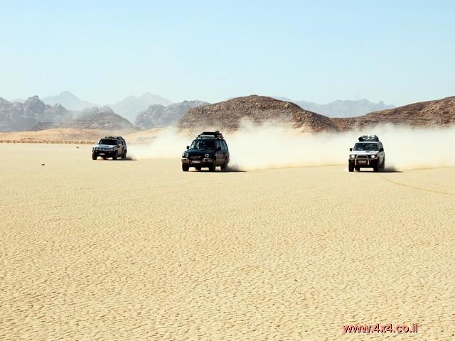 המסע למזרח ירדן - סוכות 2007