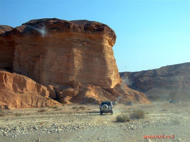 מסע חוצה נגב, ערד-אילת - סוכות 2007