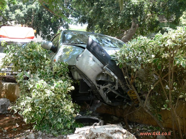 התנהגות בזמן תאונה (לא עלינו)