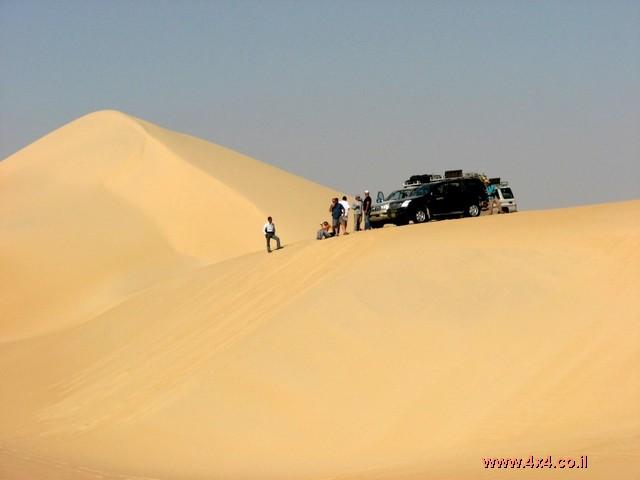 מסע ג'יפים -מדבר מערבי - מצרים - נובמבר 2007