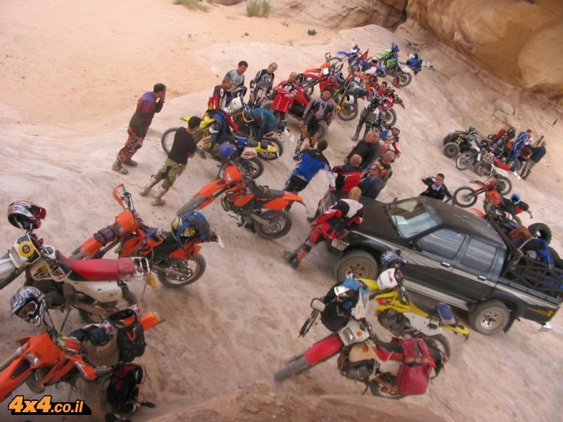 למסע יצאנו - חוויות ממסע אופנועי שטח - ירדן - נובמבר  2007
