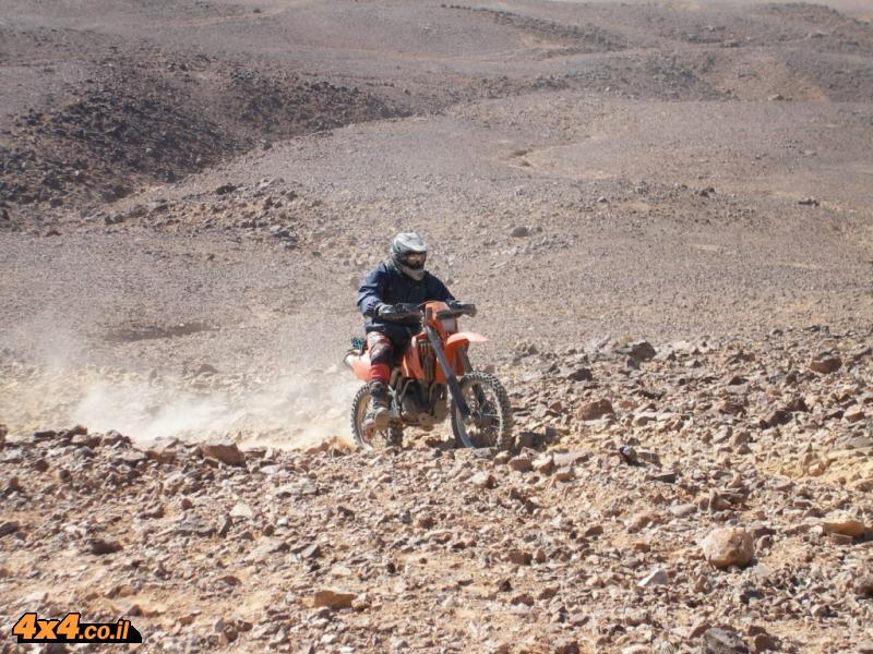 תמונות ממסע אופנועים  וטרקטורונים - ירדן - נובמבר 2007
