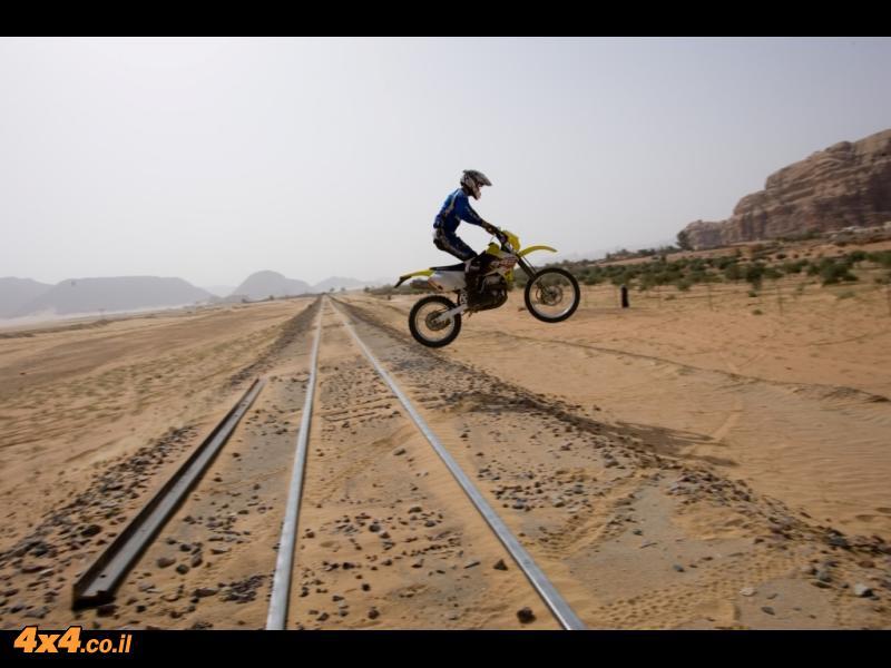 מעבר בטוח של המסילה
