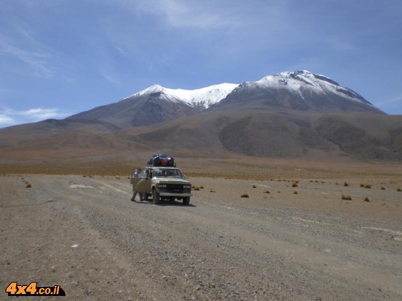 גיתי חילוץ ג'יפים - RESC4U  מדווח מדרום אמריקה