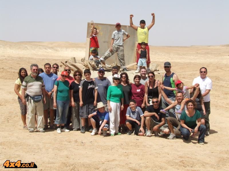 תמונות ממסע ג'יפים חוצה ישראל - פסח 2008