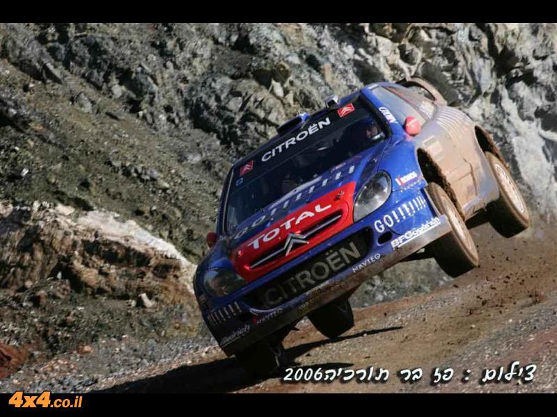 סיקור מצולם מראלי WRC  טורקיה 2006