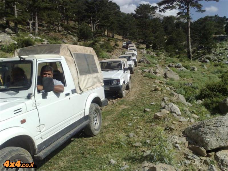 תמונות ממסע ג'יפים בטורקיה - חוצה הרי הטארוס - יוני 2008