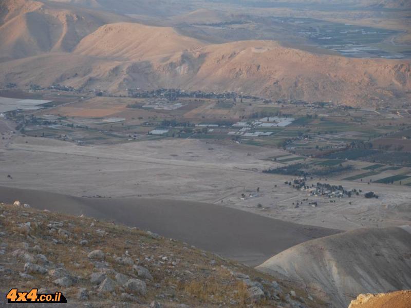 תמונות מטיול ג'יפים לבקעת הירדן