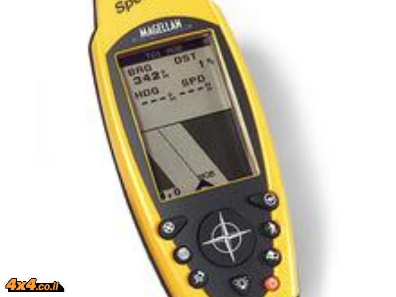 הפעלת GPS מסוג מגלן מרדיאן Meridian  או ספורטרק  Magellan  SporTrak וגם אקספלוריסט eXplorist