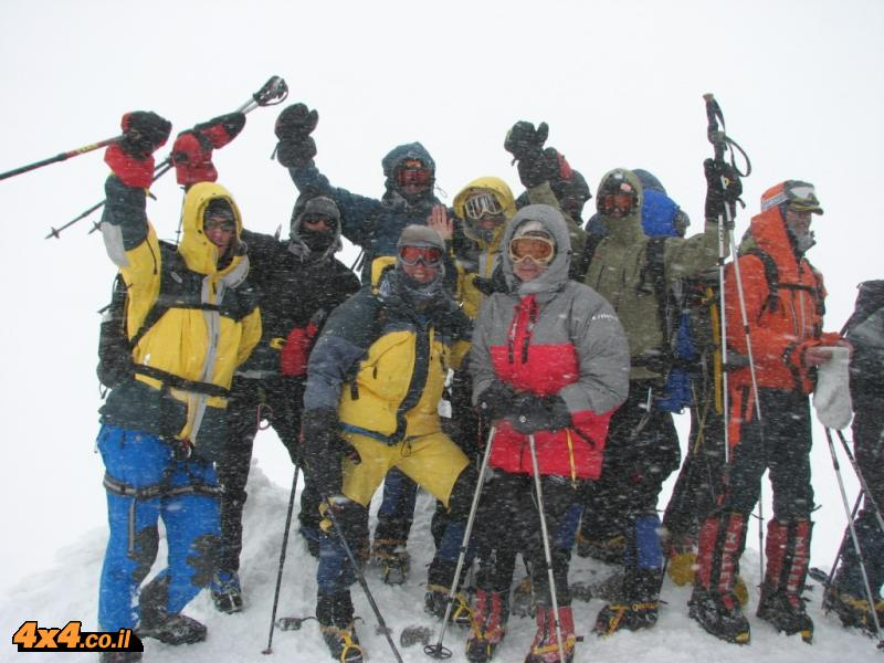 We had a mission - Elbrus 5,642 M