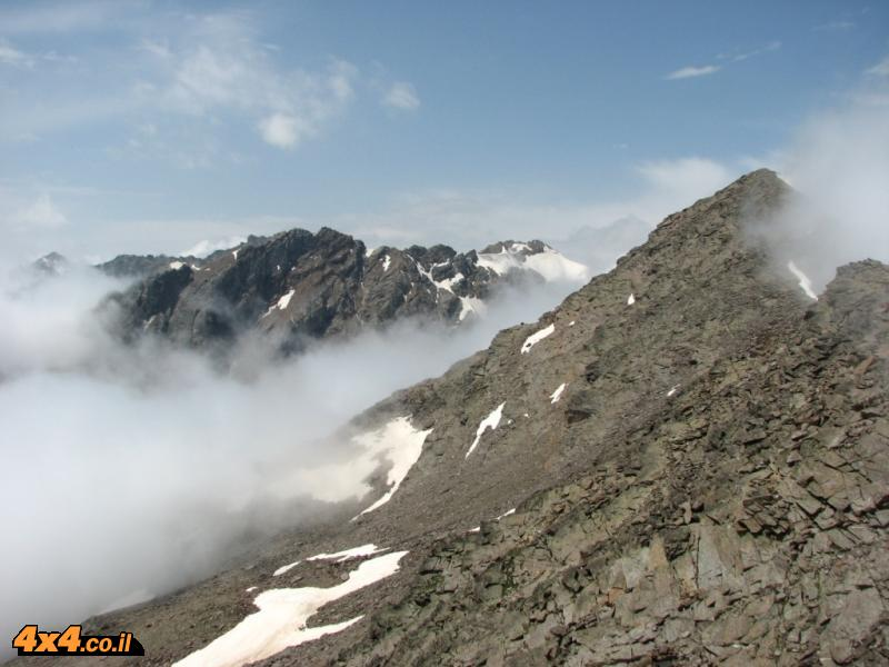 The climb to Cheget
