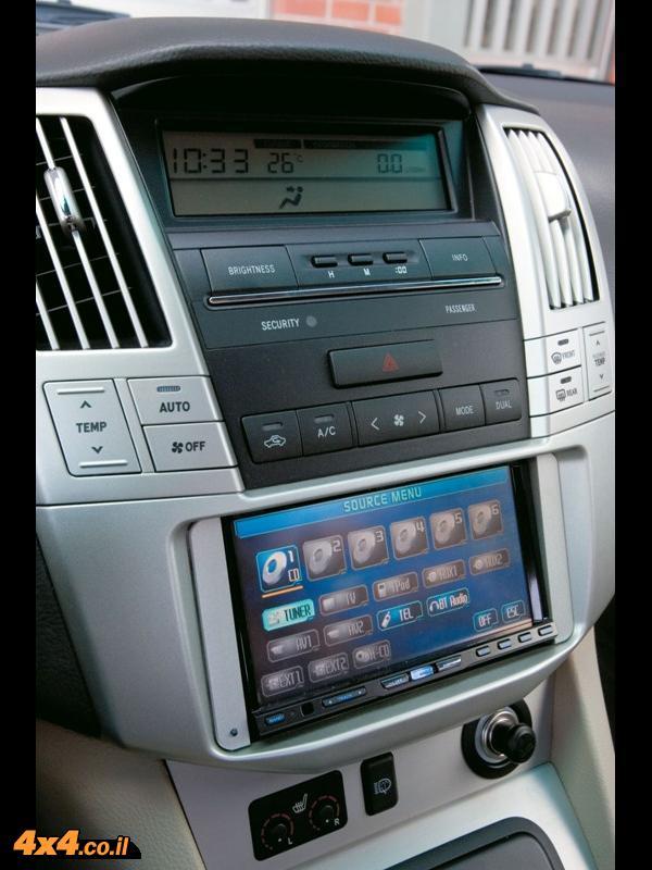 לקסוס RX400h - מפרט טכני
