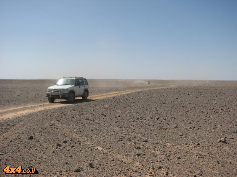 בדרך לגבול עם סעודיה