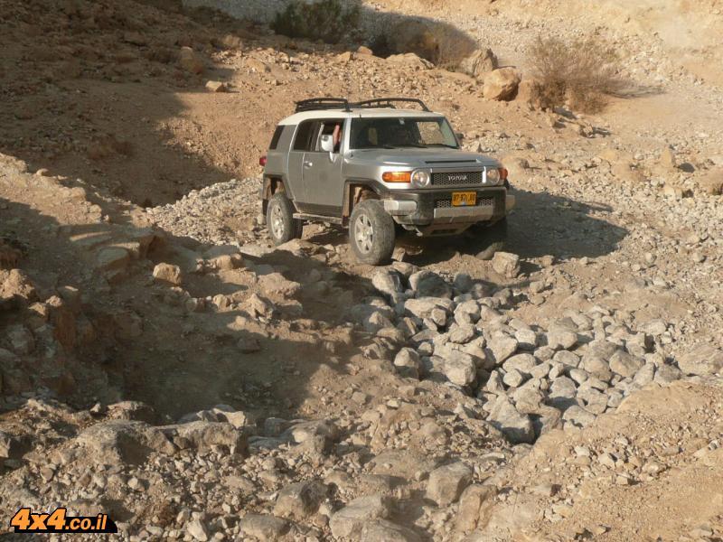 מסע לנדקרוזרים במדבר יהודה 14.11.08