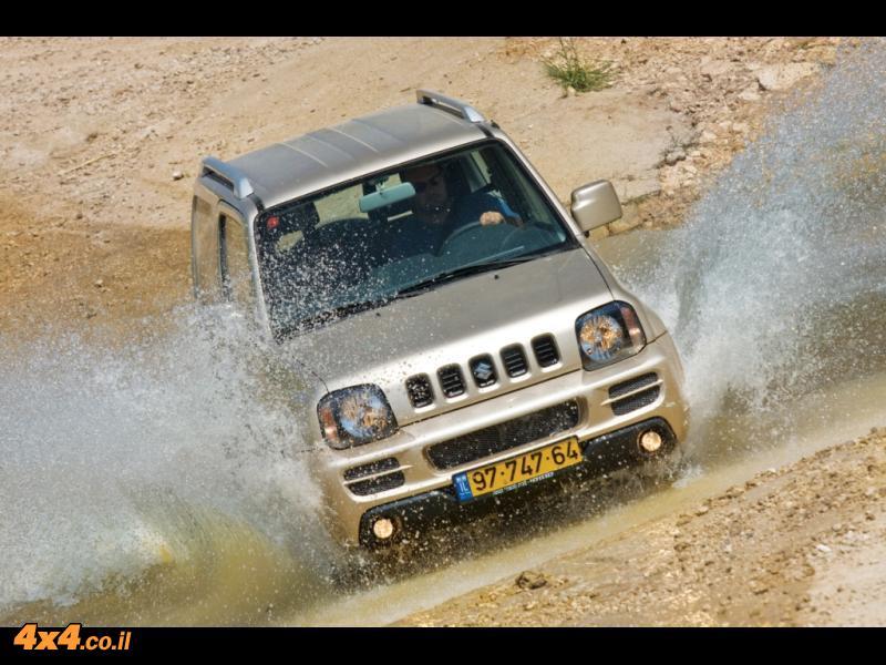 סוזוקי ג'ימני במבחן דרכים  Suzuki Jimny
