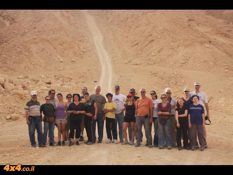 מסע חוצה נגב - פסח 2009