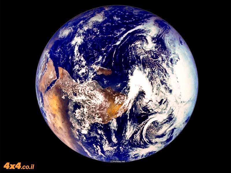 יצירת מפה מכדור הארץ
