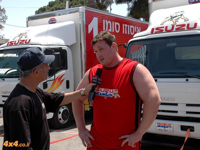 האיש/ה החזקים בישראל במשיכת משאיות 2009