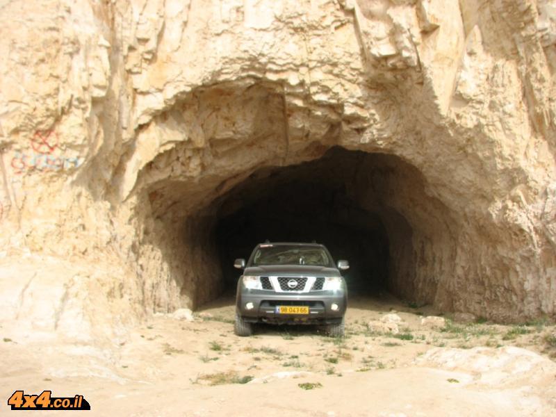 צפון מדבר יהודה - מצומת אלמוג עד רוג'ום א-נקה