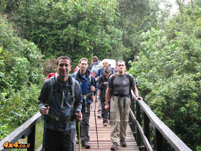 הדרך לבקתה הראשונה MANDARA  - מנדרה 2,720 מטרים