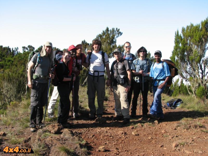 הדרך לבקתה השנייה - מטפסים עוד 1,000 מטרים לגובה