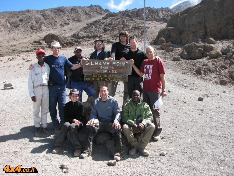 הגענו ל- KIBO בגובה של 4,700 מטרים